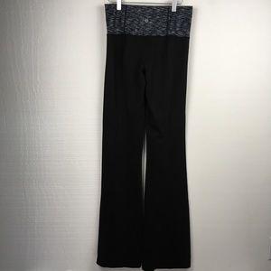 Lululemon Black Bootcut High Waist Bootcut Pants